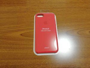 iPhone8 シリコーンケース